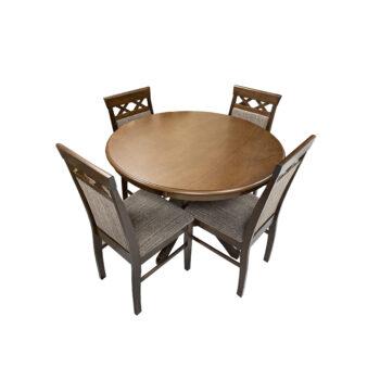 Comedor Florencia con silla Old Leather