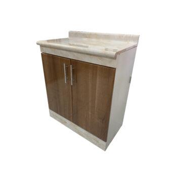 Base 2 puertas palermo madera